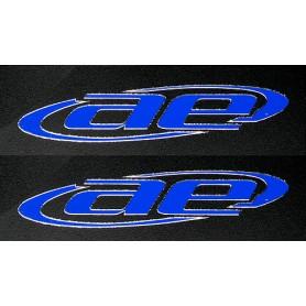 """AE logo blå """"Embossed"""""""